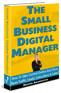 The Small Business Digital Manager: How To Take Control Online And Drive More Traffic, Leads, Subscribers, And Sales Online!